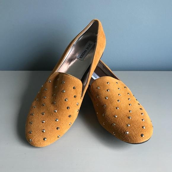 6870dff6c57 New Steve Madden Garner Studded Flats/Loafers (10)